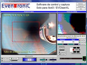 Software de control Eventronic Controler
